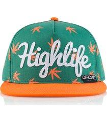 gorra verde official highlife ot