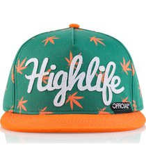 gorra verde official highlife ot