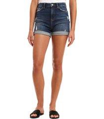women's mavi jeans ella distressed denim shorts