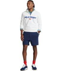 polo ralph lauren men's 6-inch polo prepster mesh shorts