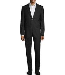 alton classic-fit hopsack suit