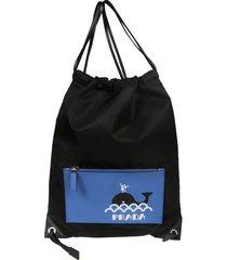 prada drawstring backpack