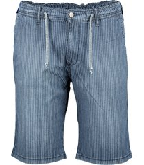pionier short - regular fit - blauw