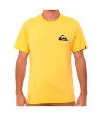 camiseta quiksilver everyday mostarda amarelo