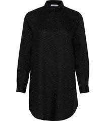 shirt fredericia deep space långärmad skjorta svart dedicated