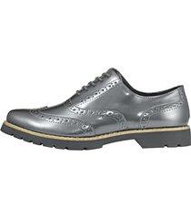 skor med hålmönster fitters footwear antracitgrå