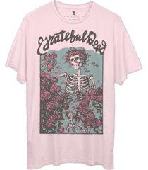 junk food cotton grateful dead t-shirt