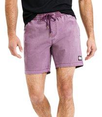 deus ex machina men's sandbar solid-dye shorts