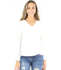 blusa luisa blanca jacinta tienda