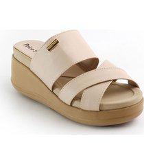 priceshoes sandalia confort dama 072m3080nude