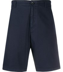 department 5 twill shorts - blue