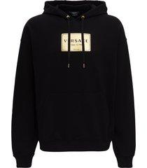 versace hoodie with print