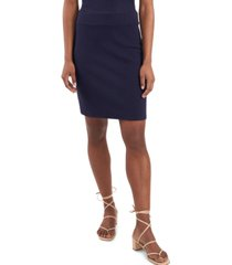 riley & rae sia ribbed pull-on skirt