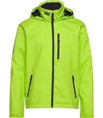 crew hooded jacket outerwear sport jackets light jackets gul helly hansen