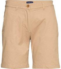 d1. classic chino shorts bermudashorts shorts beige gant