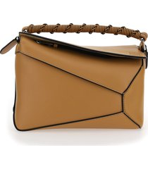 loewe edge puzzle small shoulder bag