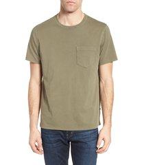 men's billy reid crewneck t-shirt, size xx-large - grey