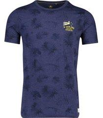 new zealand t-shirt pearson navy geprint
