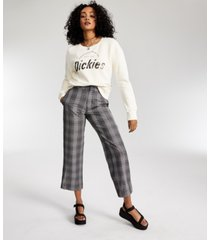 dickies french terry crewneck pullover top