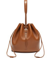 'holster' small leather crossbody bag