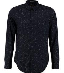 garcia donkerblauw overhemd