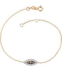 10th eye haven full diamond bracelet