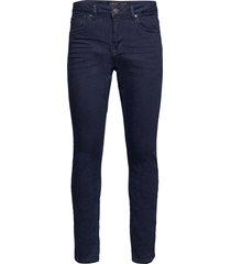 j s k3869 jeans slimmade jeans blå gabba