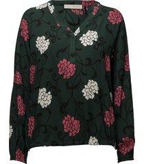 romea blouse blouse lange mouwen groen pieszak