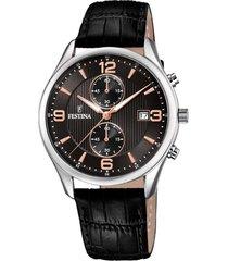 reloj f6855/7 retro negro festina