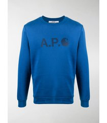 a.p.c. x carhartt wip ice sweatshirt