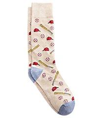 jos. a. bank baseball mid-calf socks, 1-pair clearance