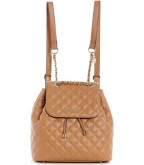 guess illy quilted backpack