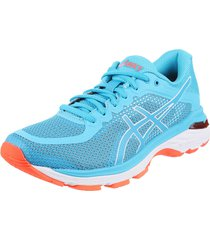 zapatilla celeste asics gel-pursue 4