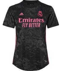 real madrid women's third jersey t-shirts & tops football shirts zwart adidas performance