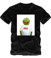 kermit supreme black t-shirt supreme style