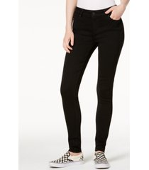 celebrity pink juniors' black skinny jeans
