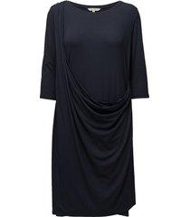 dress jurk knielengte blauw signal