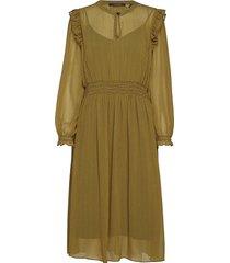 allover printed dress knälång klänning grön scotch & soda