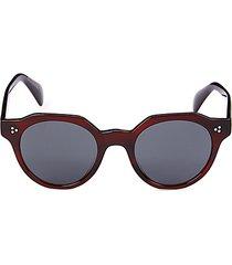 irven 50mm round sunglasses