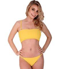 bikini amarilla disturbia