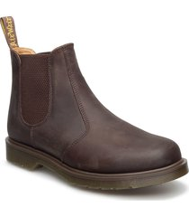 2976 black smooth shoes chelsea boots brun dr. martens