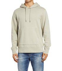 men's madewell hooded sweatshirt, size medium - green