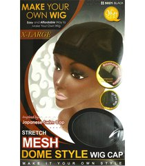 mesh dome style wig cap extra large by qfitt