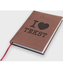 kalendarz 2020 i love + własny tekst