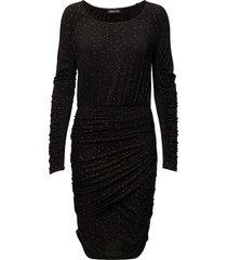 balance dress, orions jurk knielengte zwart stine goya