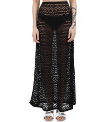 marco rambaldi long black skirt