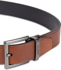 kenneth cole reaction men's reversible faux-leather belt