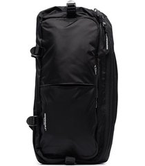 indispensable econyl single shoulder strap backpack - black