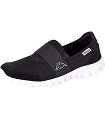 sneakers kappa svart::vit