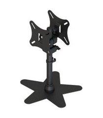 suporte de mesa p/ monitor ism-2023sfv-b avatron c/ rotação dupla